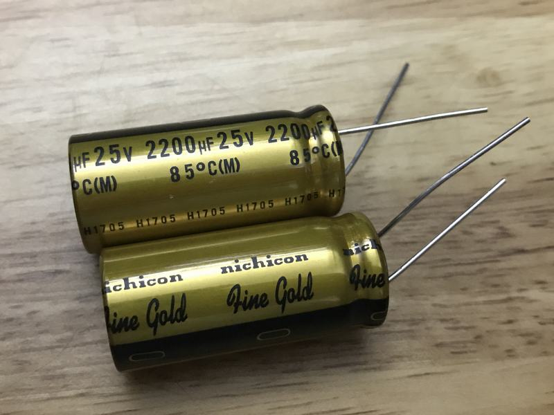 Nichicon Fine Gold 2200uf 25v Linhkienaudio Vn